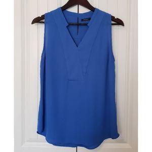 RW&Co Sleeveless Blouse (sz M, blue)